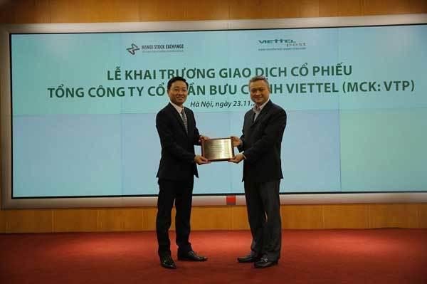 Viettel Post chào sàn UPCOM giá 68.000 đồng/cổ phiếu