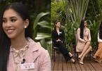 Tiểu Vy nói tiếng Anh lưu loát khi trò chuyện với MC tại HHTG 2018