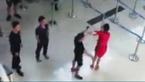 Nữ nhân viên hàng không bị tát, đạp giữa sân bay Thanh Hóa