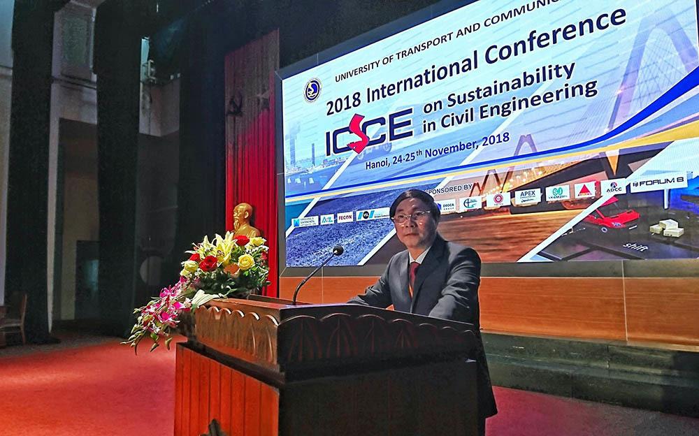 Hội nghị khoa học về phát triển bền vững trong kỹ thuật xây dựng 2018