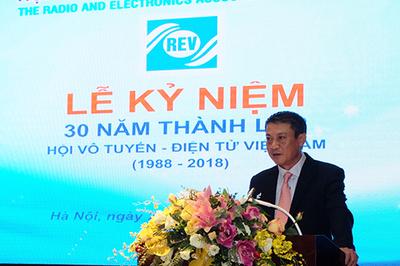 Kỷ niệm 30 năm thành lập Hội Vô tuyến Điện tử Việt Nam