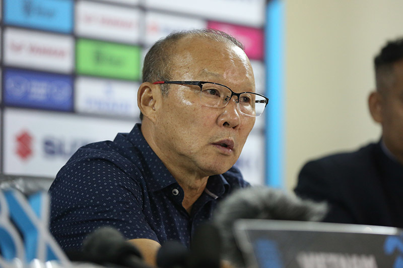 HLV Park Hang Seo: 'Quan trọng là tuyển Việt Nam đứng đầu bảng!'