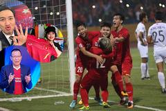 Sao Việt hân hoan khi tuyển Việt Nam thắng Campuchia 3-0