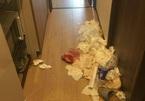 """3 nữ du khách Trung Quốc để lại căn phòng thuê trọ """"bẩn như ổ chuột"""""""