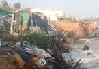 Bão số 9 chưa đổ bộ, nhiều nhà đã sập đổ
