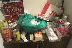 3 nữ du khách Trung Quốc để lại phòng thuê trọ 'bẩn như ổ chuột'
