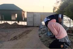 Vụ nữ GĐ quỳ lạy: Cẩu container, giải tán toán giang hồ đất Cảng