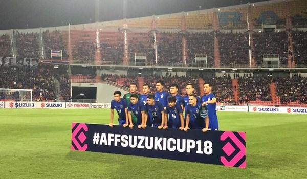 Thái Lan 2-0 Singapore: Quá khó cho đội khách (hết hiệp 1)
