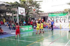 142 đội dự Giải Bóng rổ học sinh tiểu học Hà Nội 2019