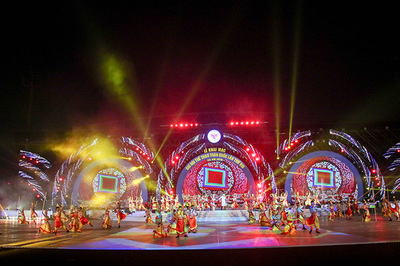 Rực rỡ sắc màu lễ khai mạc Đại hội TDTT toàn quốc 2018