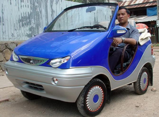 Ô tô điện 200 triệu do Campuchia sản xuất: Một kết cục không thể ngờ