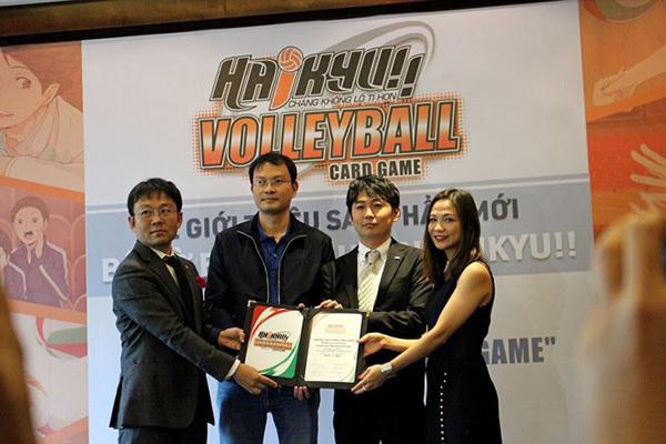 Game bộ cờ bóng chuyền Haikyu có mặt tại Việt Nam
