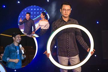 Hoàng Bách, Tiết Cương 'lầy lội' trong gameshow công nghệ đầu tiên châu Á
