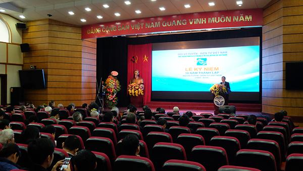 Nguyên Thứ trưởng Trần Đức Lai được bầu làm Chủ tịch Hội Vô tuyến Điện tử Việt Nam