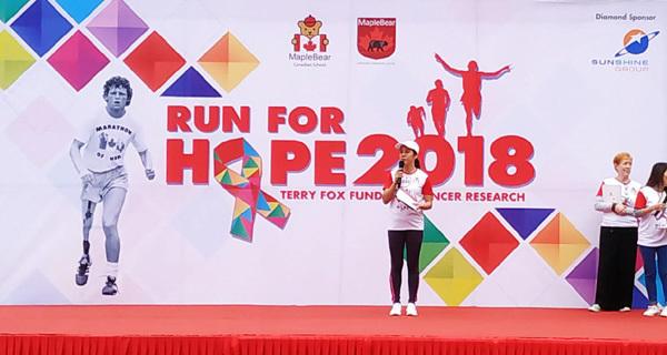 Sunshine Group đồng hành cùng Run for Hope 2018