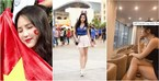 """Fan nữ Việt Nam, Thái Lan """"đọ sắc"""" trên khán đài AFF Cup 2018"""