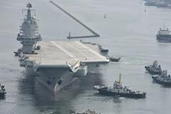 Mẫu hạm TQ dính 'đòn' vì chiến tranh thương mại