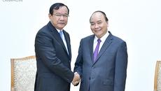 Thủ tướng đề nghị Campuchia tiếp tục quan tâm giúp đỡ bà con Việt kiều