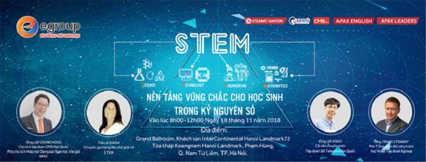 STEM 'cú hích' cho giáo dục Việt Nam thời 4.0
