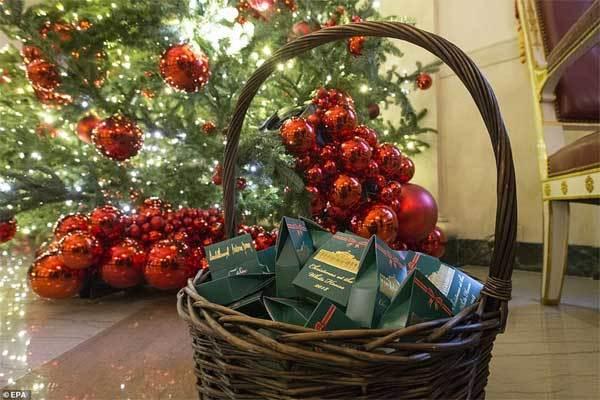 Ngắm Nhà Trắng lấp lánh trong ánh đèn Giáng sinh