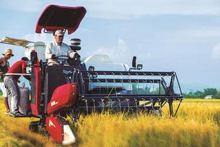 Ưu điểm vượt trội của máy gặt vô lăng Yanmar