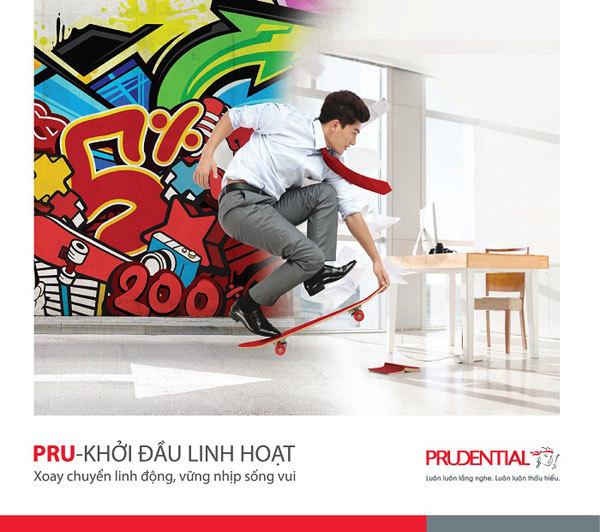 Prudential ra mắt sản phẩm PRU-khởi đầu linh hoạt