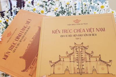 Bộ sách quý về 22 ngôi đình chùa tiêu biểu của Việt Nam