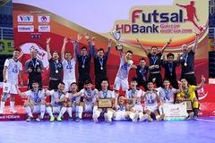 Thái Sơn Nam lập hat-trick vô địch futsal HDBank Cúp Quốc gia