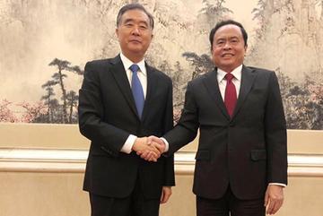 Tăng cường phối hợp giữa MTTQ Việt Nam và Chính hiệp Trung Quốc