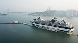 Hạ Long: Cảng tàu nghìn tỉ đón chuyến tàu quốc tế đầu tiên