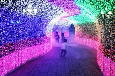 Lộng lẫy lễ hội ánh sáng ở Quảng Ninh Gate