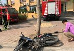 Hà Nội: Xe cứu hỏa va chạm xe máy, người đàn ông chết thảm