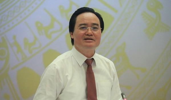 """Bộ trưởng Phùng Xuân Nhạ: """"Tôi rất buồn khi có hiện tượng giáo viên vi phạm"""""""