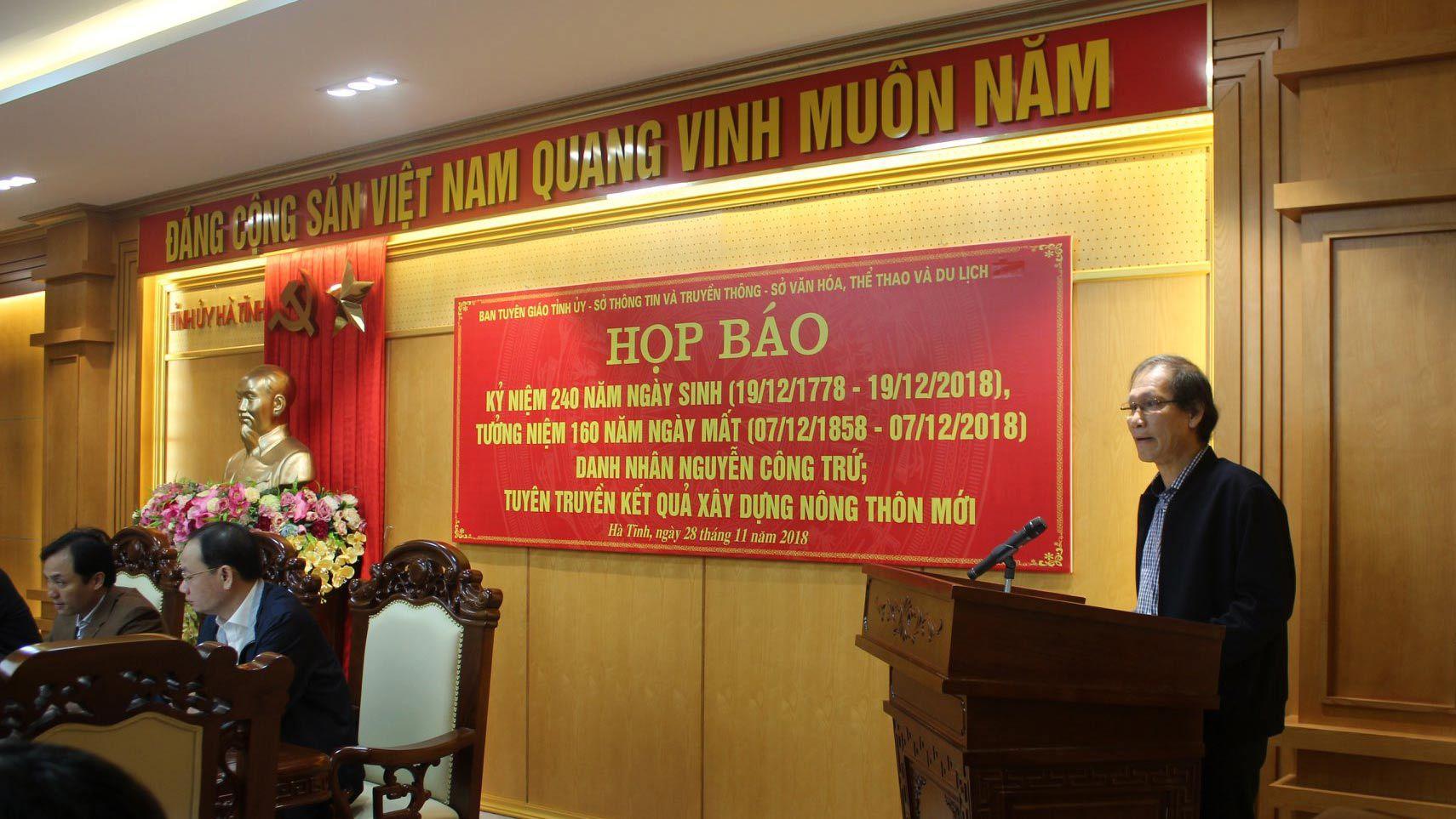 Uy viễn tướng công Nguyễn Công Trứ,danh nhân Nguyễn Công Trứ,Nông thôn mới,Hà Tĩnh
