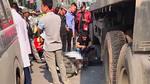 Nam thanh niên tử nạn dưới gầm xe container trên đường Hà Nội