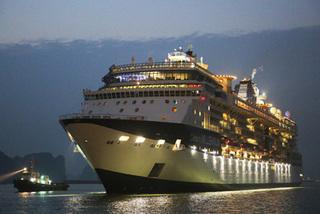 Cảng hành khách quốc tế Hạ Long đón tàu biển 5 sao đầu tiên