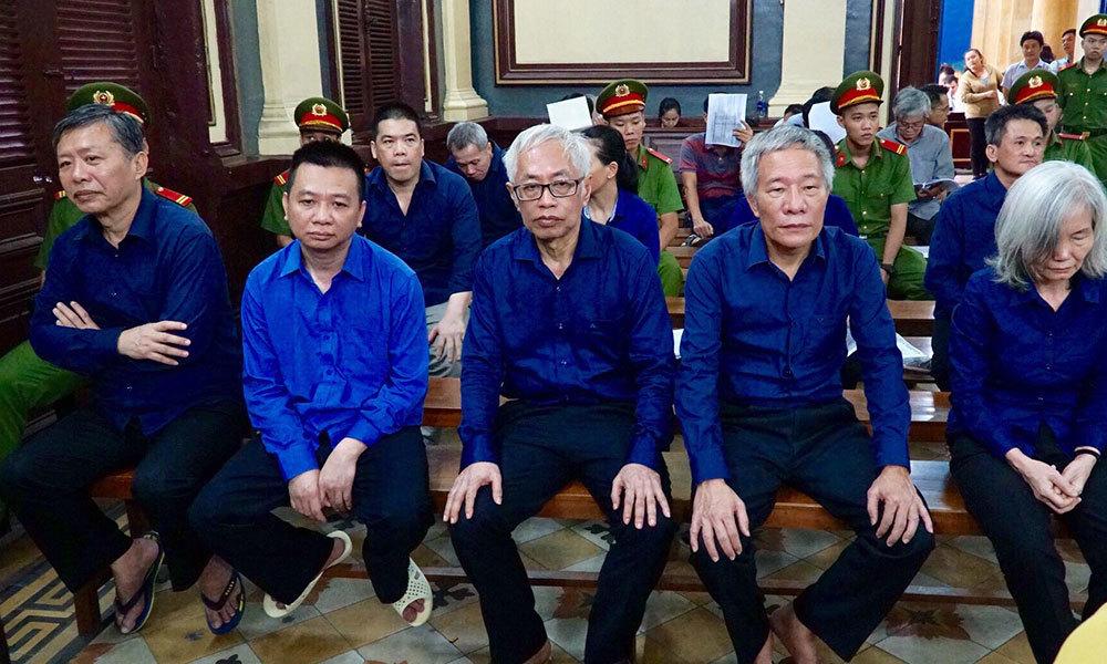 Vũ 'nhôm' bị cách ly khi tòa xét hỏi ông Trần Phương Bình