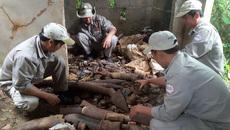 Quảng Trị: 1.000 đầu đạn bị bỏ quên trong căn nhà hoang