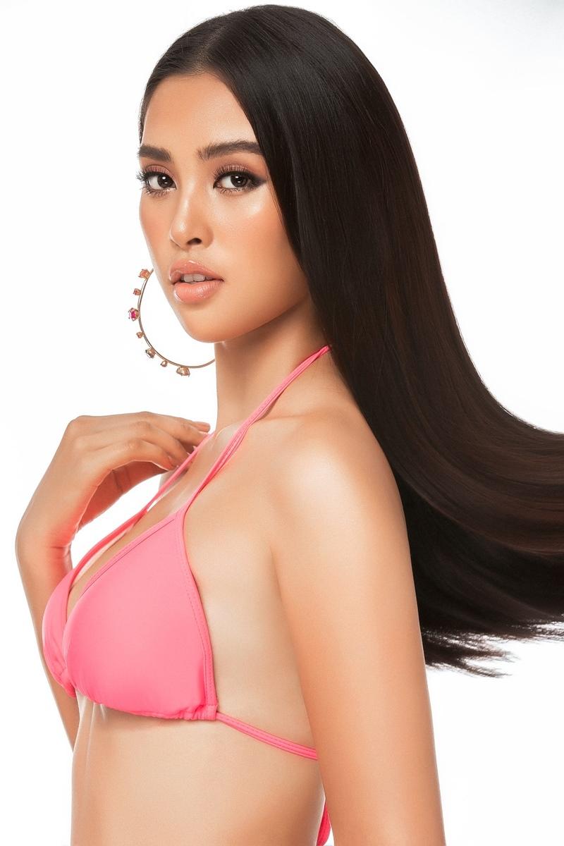 Hoa hậu Tiểu Vy khoe thân hình nóng bỏng thi Miss World
