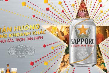Thưởng bia tùy chỉnh theo gu Sapporo