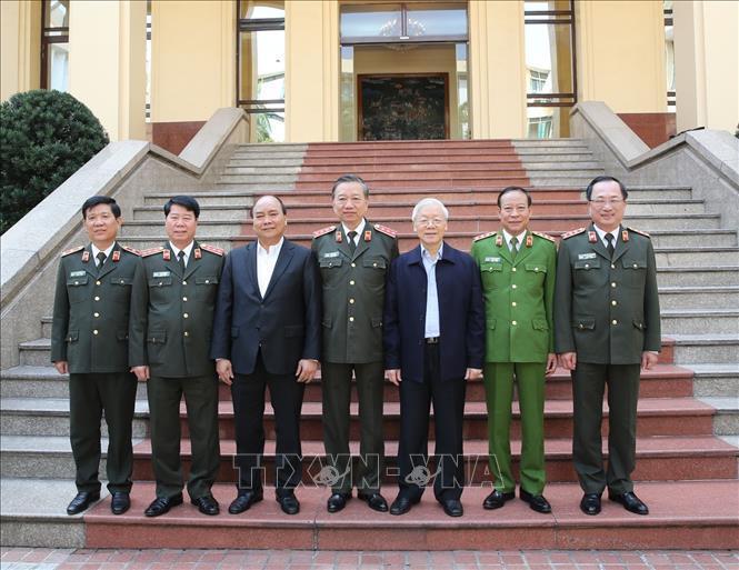 Tổng bí thư Nguyễn Phú Trọng,Chủ tịch nước Nguyễn Phú Trọng,Nguyễn Phú Trọng,Bộ trưởng Tô Lâm