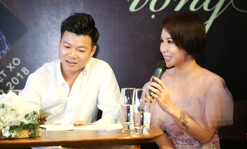 Trọng Tấn, Uyên Linh làm khách mời trong liveshow của Vũ Thắng Lợi