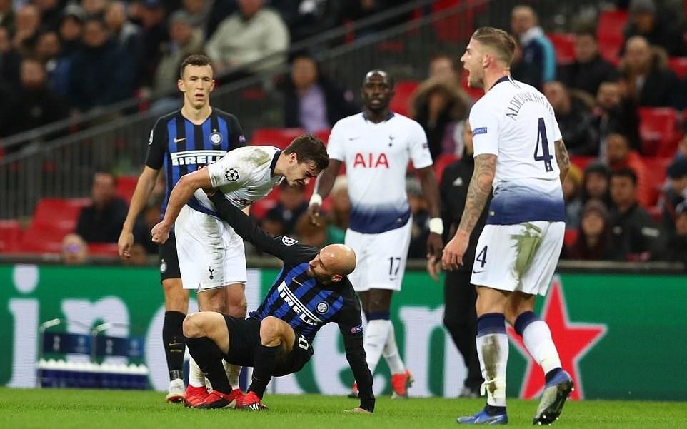 Đánh gục Inter, Tottenham chờ tử chiến với Barca