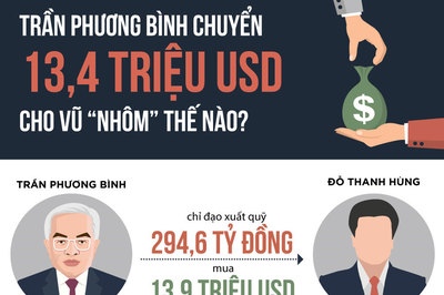 Trần Phương Bình chuyển 13,4 triệu USD cho Vũ Nhôm thế nào?