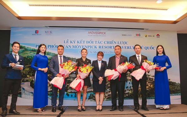 MIK Home ký kết phân phối dự án Mövenpick Resort Waverly Phú Quốc