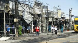 Khởi tố vụ xe bồn chở xăng cháy làm 6 người chết