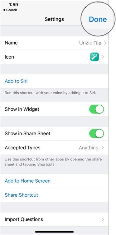 Cách dùng tính năng nén và giải nén file có sẵn trên iOS 12