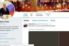 Twitter khóa tài khoản giả mạo của Tổng thống Putin