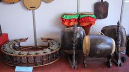 Nhạc cụ truyền thống các dân tộc Việt Nam trưng bày tại Gia Lai
