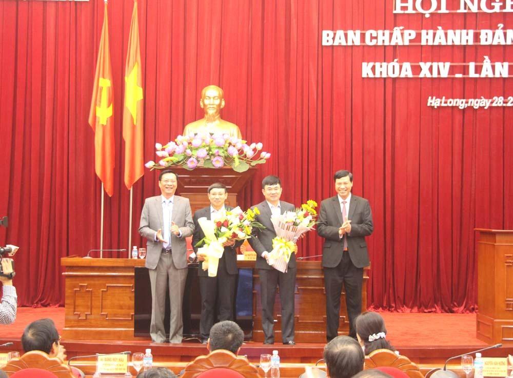 Quảng Ninh có 2 Phó Bí thư Tỉnh ủy mới